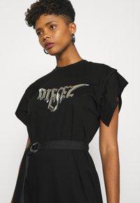 Diesel - D-FLIX-C DRESS - Jersey dress - black - 4