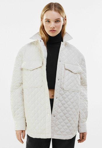 Winter jacket - stone