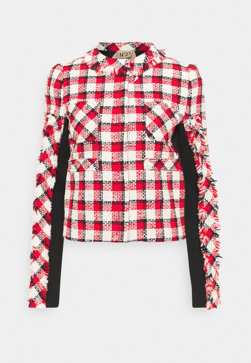 N°21 - JACKET - Summer jacket - rosso