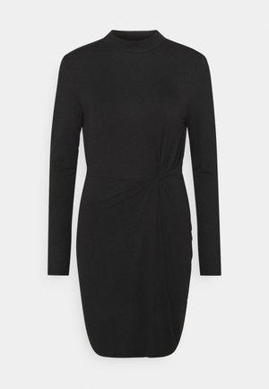 VMNORA SHORT DRESS - Day dress - black