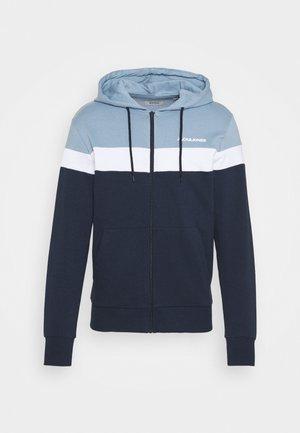 JJSHAKE ZIP HOOD - Zip-up hoodie - navy blazer