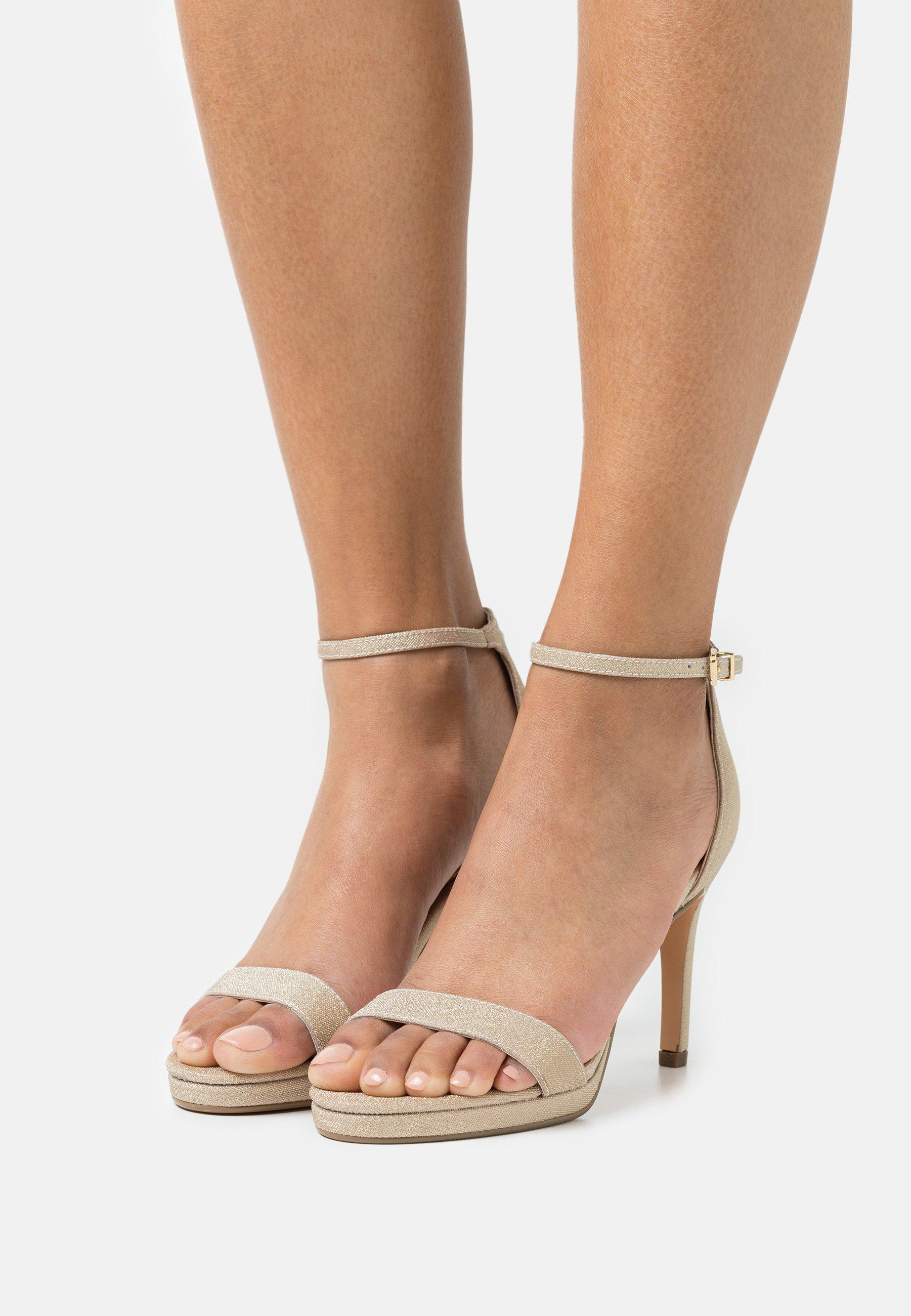 Women VEGAN MONROE - High heeled sandals - gold