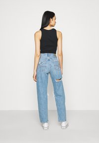 American Eagle - MOM PRIDE - Straight leg jeans - sapphire mist - 2