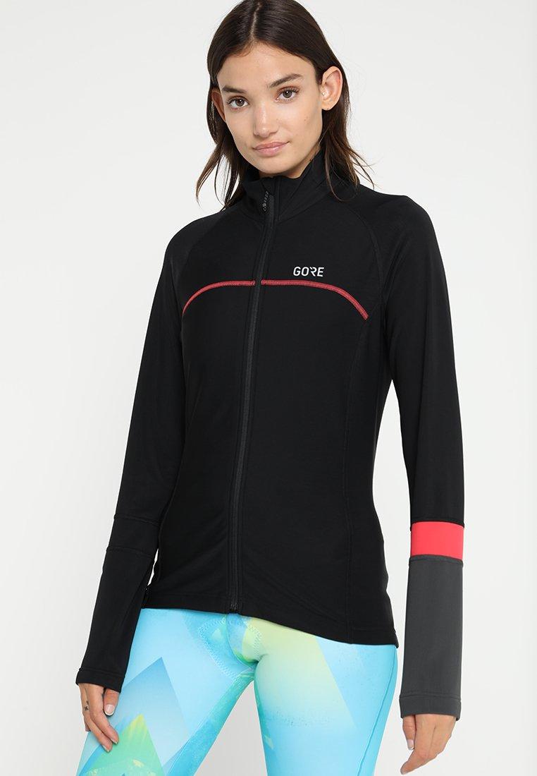 Gore Wear - THERMO  - Training jacket - black/terra grey