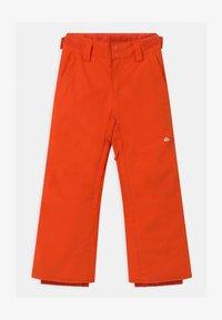 Quiksilver - ESTATE UNISEX - Zimní kalhoty - pureed pumpkin - 0