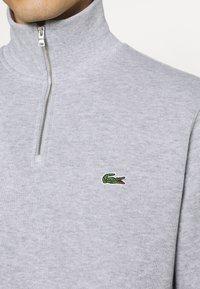 Lacoste - Stickad tröja - argent chine - 4