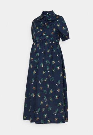 COLLARED DRESS - Skjortekjole - navy