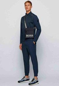 BOSS - Across body bag - dark blue - 0