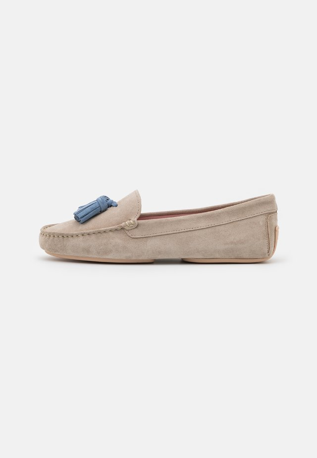 Mocassins - sand/jeans