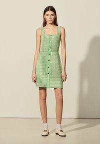 sandro - Day dress - vert - 0