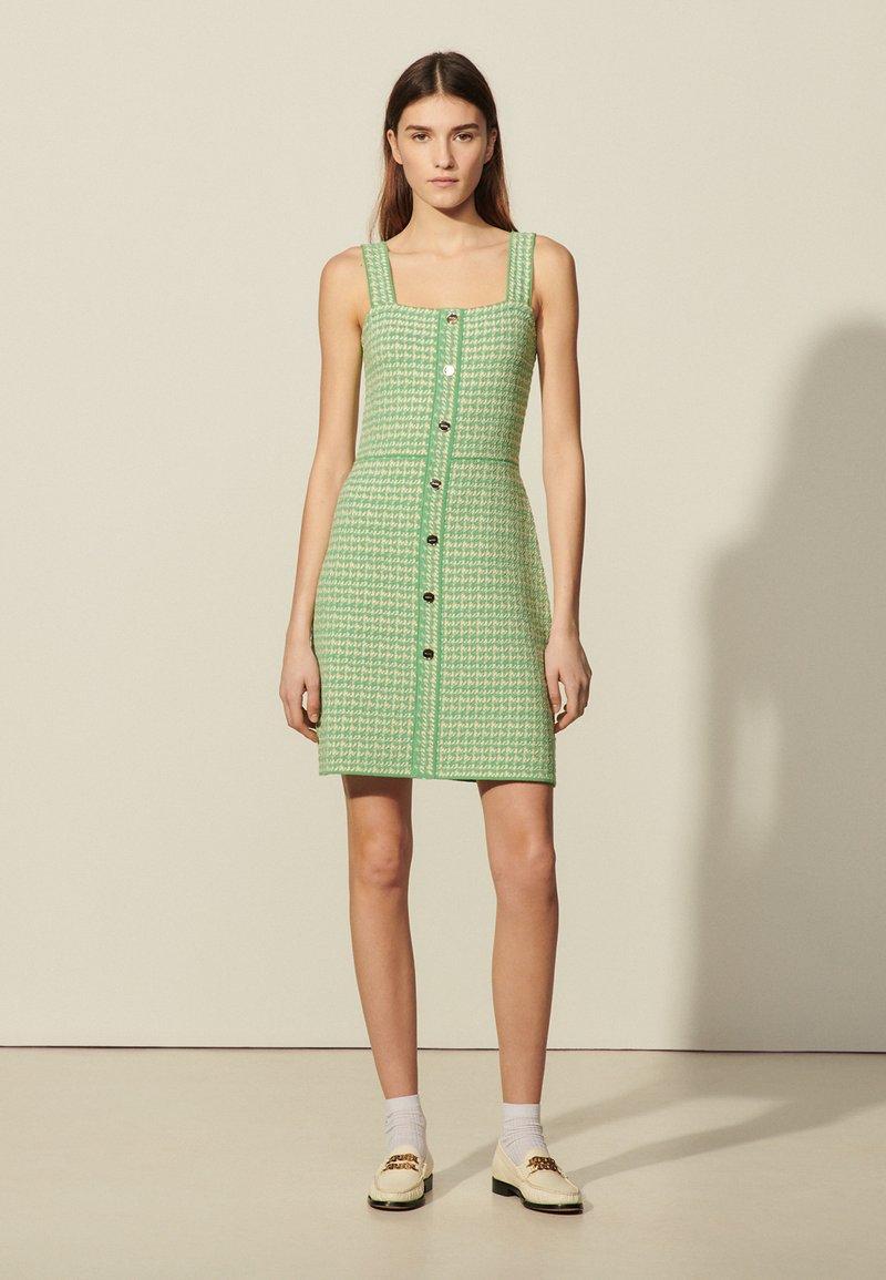sandro - Day dress - vert