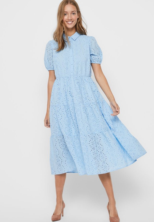 STICKEREI - Maxi dress - placid blue