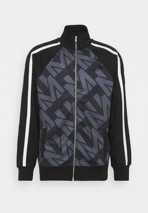 ZIP FUNNEL TRACK - Zip-up hoodie - navy