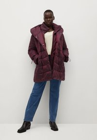 Violeta by Mango - SOHO7 - Winter coat - granatrot - 1