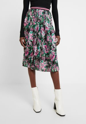 PLISSEE SKIRT - A-line skirt - multi-coloured
