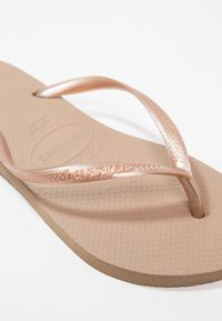 Havaianas - SLIM FIT - Pool shoes - rose gold - 2