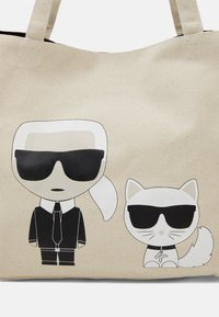 KARL LAGERFELD - IKONIK KARL CHOUPETTE TOTE - Shopping Bag - natural - 3