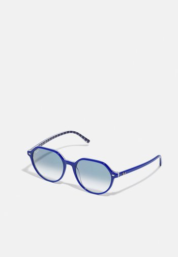 UNISEX - Sunglasses - vichy blu/white