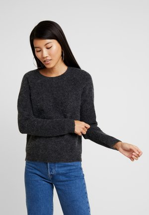 VMBLAKELY - Jumper - dark grey melange