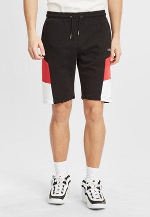 Shorts - black-true red-bright white