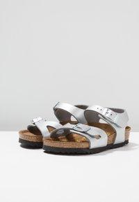 Birkenstock - RIO KIDS - Sandals - silber - 3