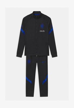 NIEDERLANDE SET UNISEX - National team wear - black/bright blue