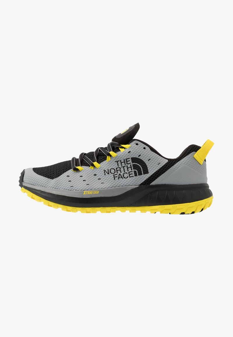 The North Face - M ULTRA ENDURANCE XF - Obuwie do biegania Szlak - griffin grey/black