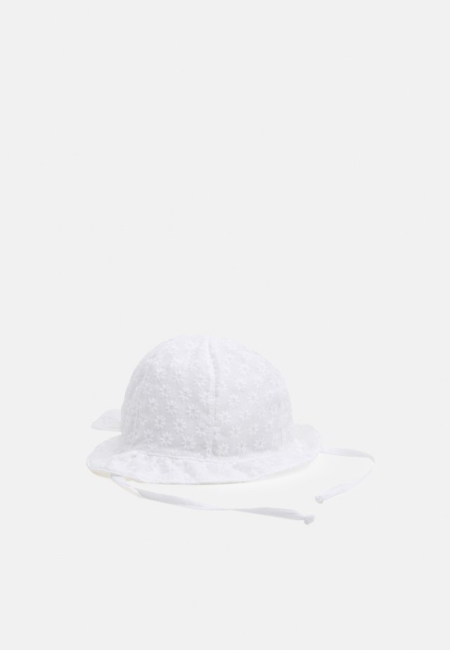 MINI GIRL FLAPPER SCHLEIFE - Chapeau - white