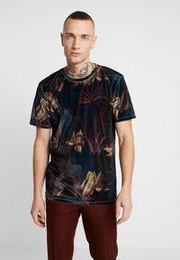 Topman - LEAF TEE - T-shirt med print - multi - 0