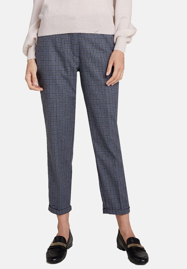 CHECK NEW YORK A SIGARETTA - Pantaloni - grigio