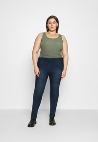Simply Be - HIGH WAIST SHAPER - Jeggings - indigo - 1