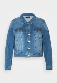 CAPSULE by Simply Be - WESTERN JACKET - Denim jacket - blue - 4