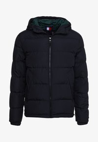 Tommy Hilfiger - HOODED REDOWN BOMBER - Down jacket - black - 5