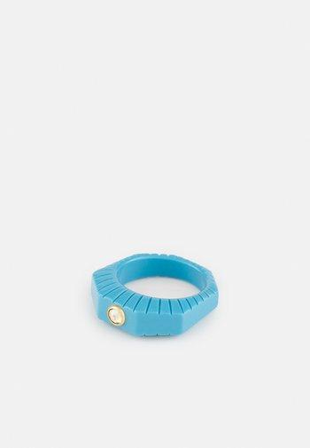 SHINING STAR - Ring - blue