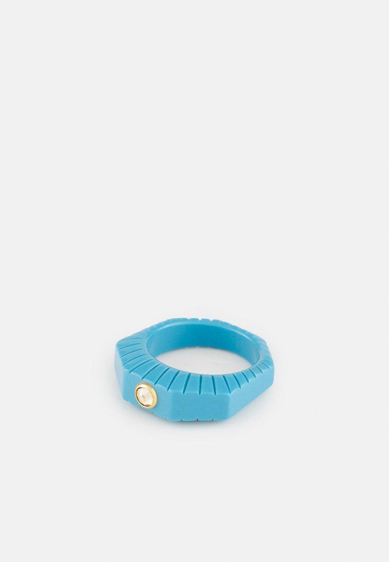 WALD - SHINING STAR - Ring - blue