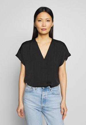 RINDA - Basic T-shirt - black
