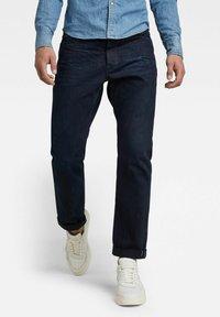 G-Star - TRIPLE A STRAIGHT SELVEDGE - Straight leg jeans - worn in bleak - 0