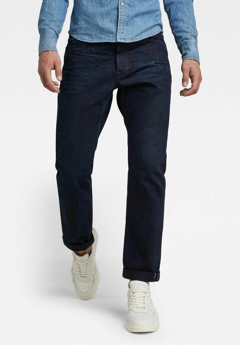 G-Star - TRIPLE A STRAIGHT SELVEDGE - Straight leg jeans - worn in bleak
