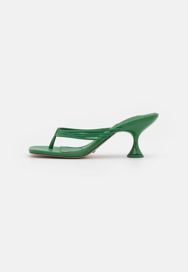 NEEVA TOE THONG - Infradito - green