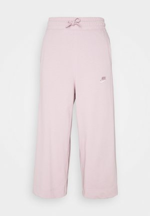 NSW CAPRI JRSY - Pantalon de survêtement - plum chalk/plum chalk