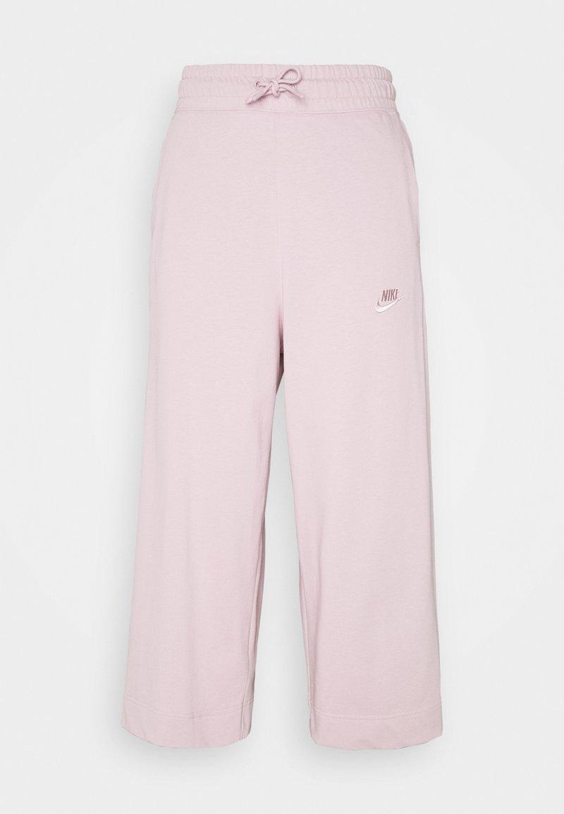 Nike Sportswear - NSW CAPRI JRSY - Tracksuit bottoms - plum chalk/plum chalk