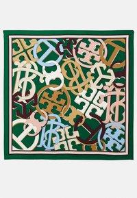 Tory Burch - MEDLEY LOGO SQUARE - Foulard - green/multi-coloured - 2