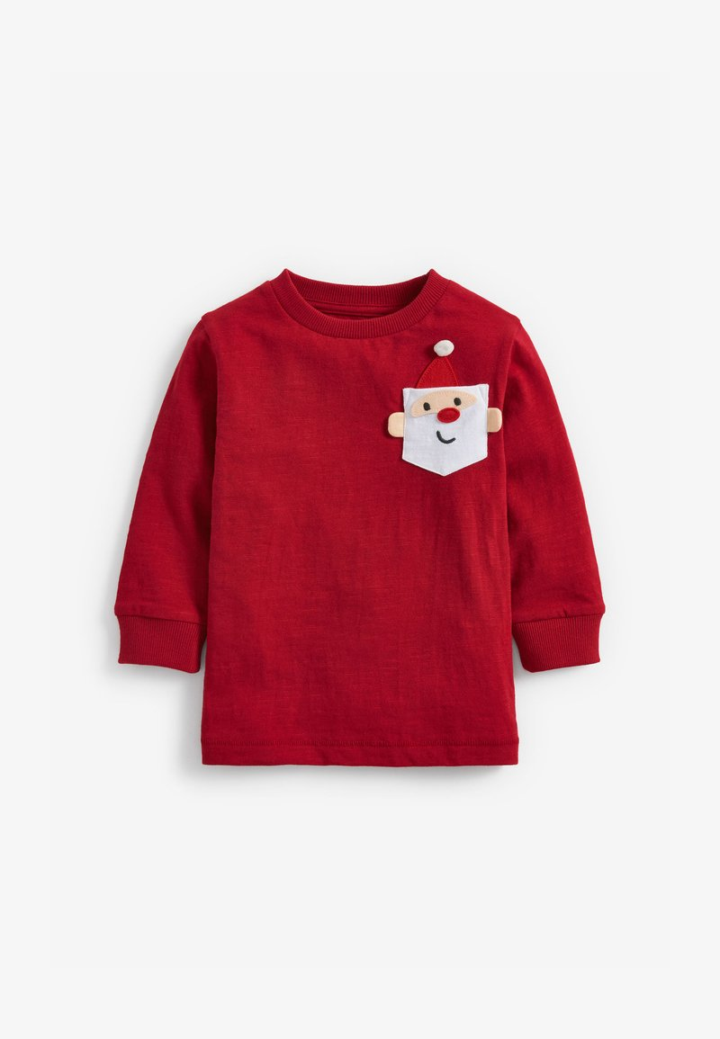 Next - Long sleeved top - red
