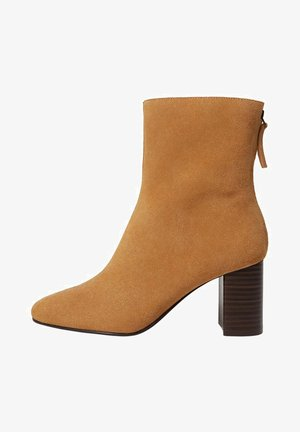 COMFY - Ankle boots - mittelbraun