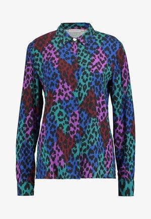 PERFECT BLOUSE - Button-down blouse - dark blue/pink