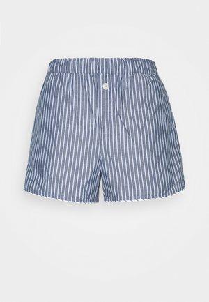 SUM POPLIN SHORT - Shorts - navy