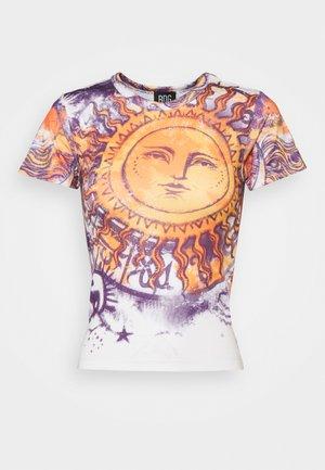 BIG SUN BABY TEE - T-shirt imprimé - white