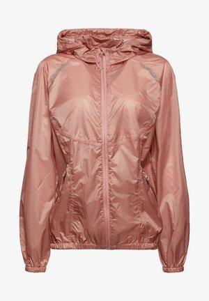 Waterproof jacket - old pink