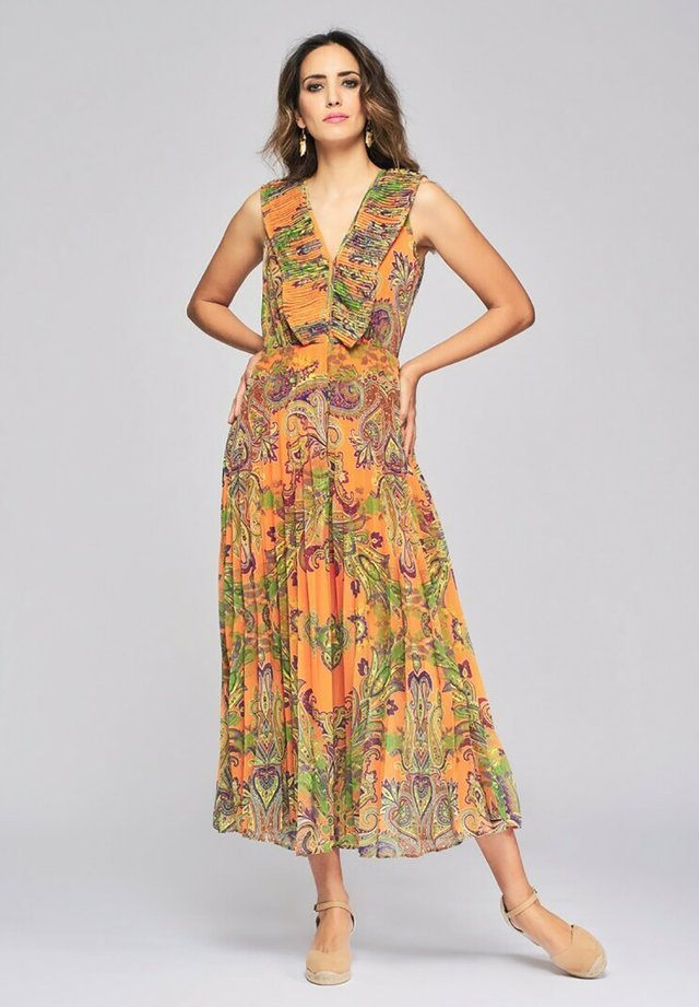 Day dress - naranja