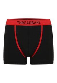 Threadbare - 3PACk - Onderbroeken - schwarz, grau, blau - 1